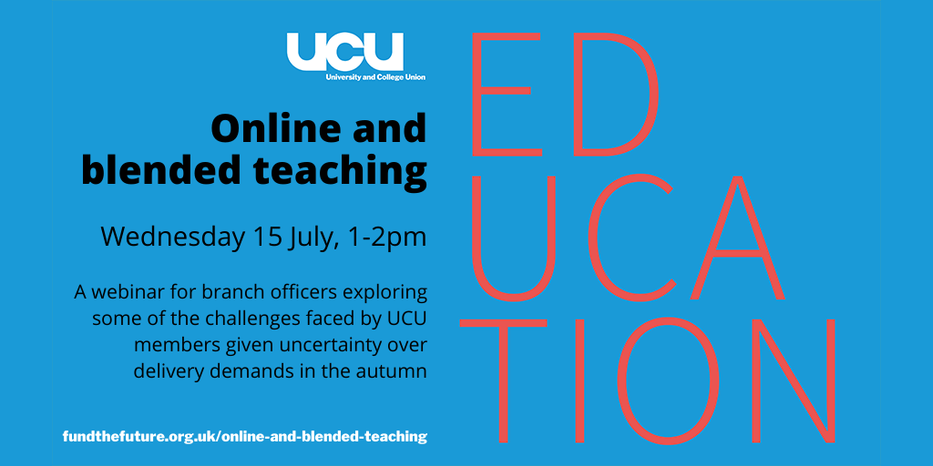 Online and blended teaching: 15 July, 1:00 pm - 2:00 pm